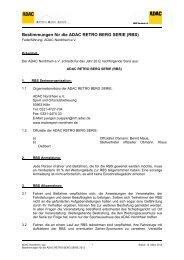 Bestimmungen für die ADAC RETRO BERG SERIE (RBS) - Dürener ...