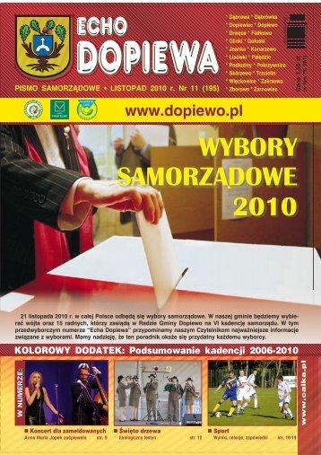 Echo Dopiewa nr 11 (195) - Gmina Dopiewo