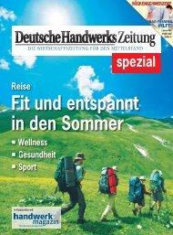 Fit und entspannt in den Sommer - Deutsche Handwerks Zeitung