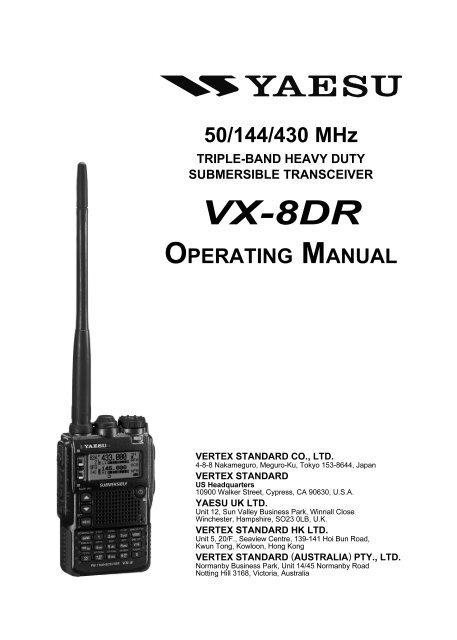 VX-8DR - FTP Directory Listing