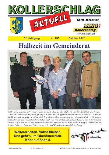 Zeitung Herbst 2012 - Marktgemeinde Kollerschlag