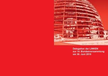 Delegation der LINKEN zur 14. Bundesversammlung am ... - Die Linke