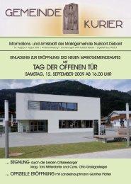 Kurier 1-8.qxp - Nußdorf-Debant