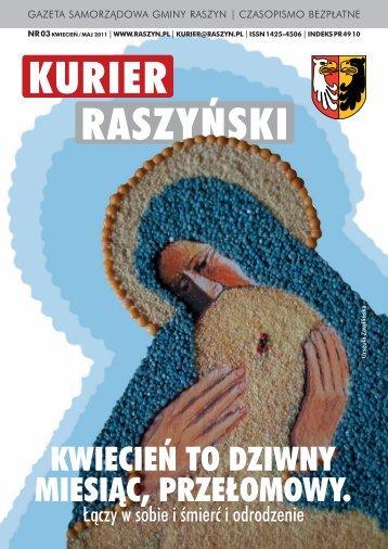 Czytaj Kurier - Gmina Raszyn