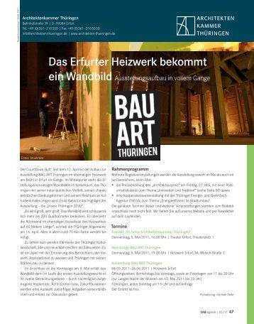 DAB Mai 2011 - Architektenkammer Thüringen