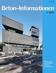 Beton-Info intern Beton-Info intern – Beton-Info intern