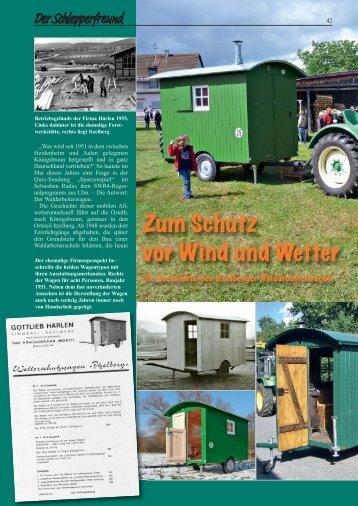 Zum Schutz vor Wind und Wetter