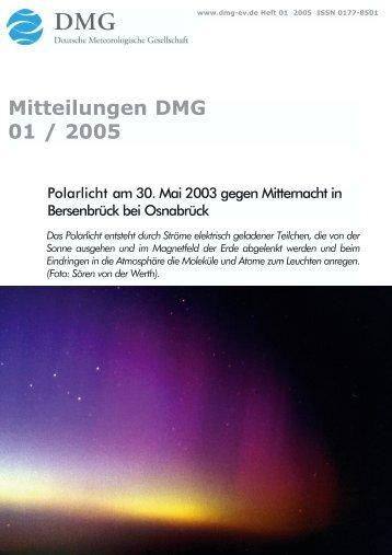 forum - Deutsche Meteorologische Gesellschaft eV (DMG)