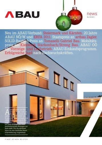 Ausgabe 02/2011 - ABAU NÖ/Wien
