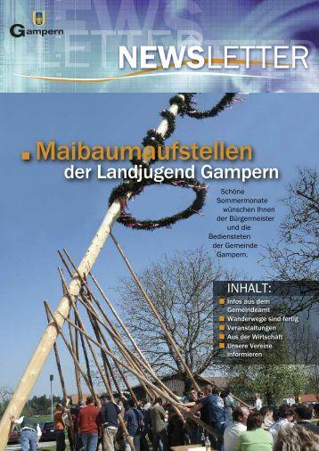 Meine sehr geehrten Gamperner! Liebe Jugend! - Gemeinde Gampern