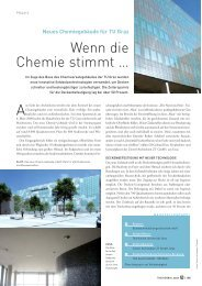 Neues Chemiegebäude für TU Graz - Sprit.org