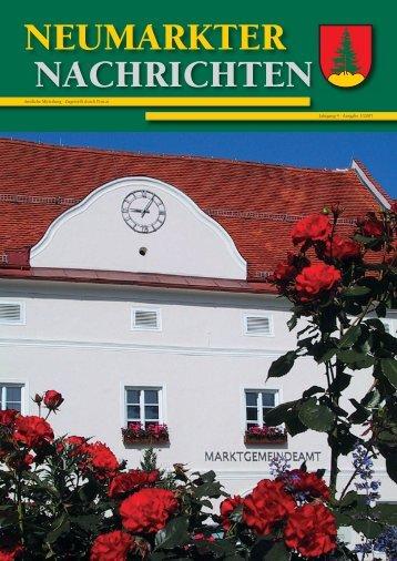 Gelbe Tonne / Abholtermine 2007 - Gemeinde Neumarkt in der ...