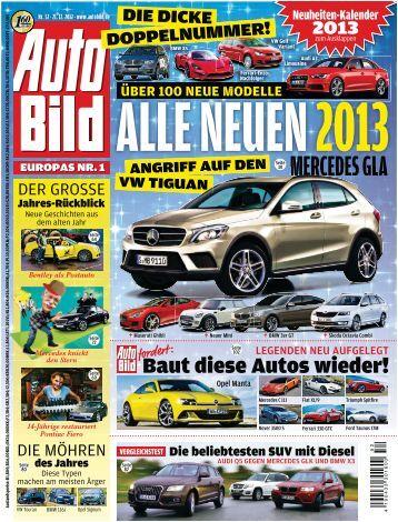 Weitere Autos 2012