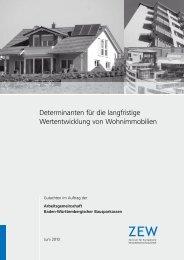 Determinanten Für Die Langfristige Wertentwicklung Von ...