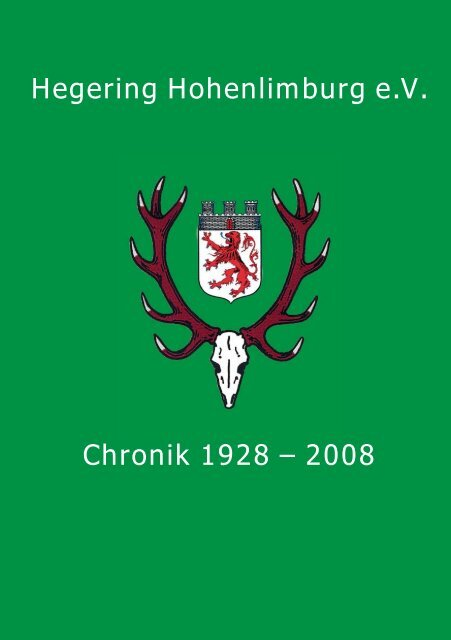 Download Chronik - Hegering Hohenlimburg eV