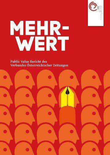 Public Value Bericht des Verbandes Österreichischer ... - Der Standard
