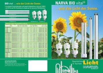 NARVA BIO vital® - Ltv