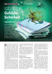 Gefühlte Sicherheit Lukas Grunwald - DN-Systems