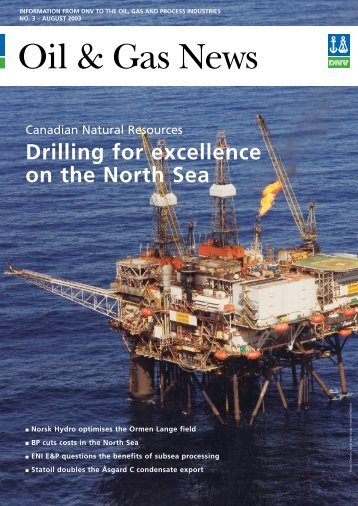 Drilling for excellence on the North Sea