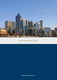 Leistungsbilanz 2011 - DNL Investmentagentur für U.S. Immobilien