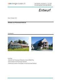 Strategie zum PEG - energie-plattform.ch des energie-cluster.ch