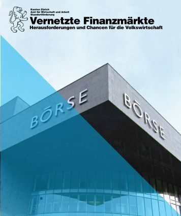 Vernetzte Finanzmärkte, Januar 2011 - Volkswirtschaftsdirektion ...