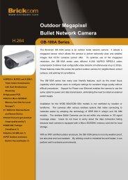 Outdoor Megapixel Bullet Network Camera - GTC: observatie