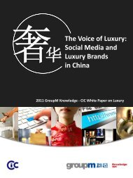 The Voice of Luxury - French Chamber of Commerce and Industry in ...