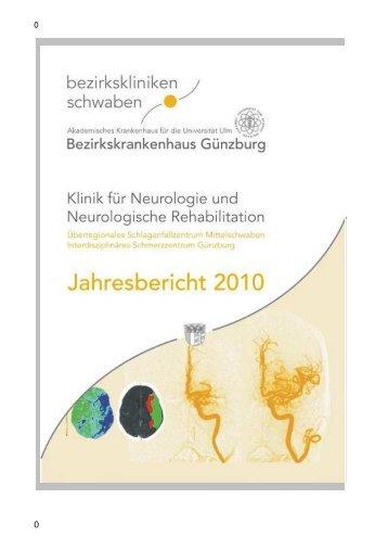 Jahresbericht 2010 -  Bezirkskrankenhaus Günzburg