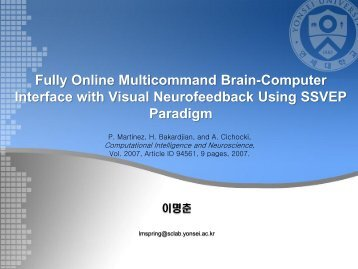 Fully Online Multicommand Brain-Computer Interface with Visual ...