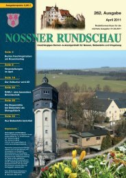 April 2011 - Nossner Rundschau