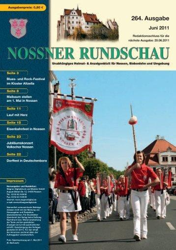 264. Ausgabe Juni 2011 - Nossner Rundschau