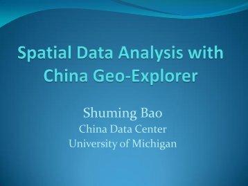Spatial Data Analysis with China Geo-Explorer.pdf - The China Data ...