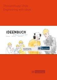 Ideenbuch - Unternehmensprofil 2011 - Uhde GmbH