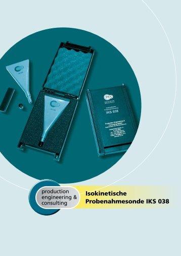 Datenblatt deutsch - Production Engineering