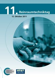 Download Folder Reinraumtechniktag 2011 - Production Engineering