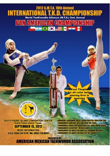 South Padre Island Tournament 2012 - Kang's Taekwondo ...
