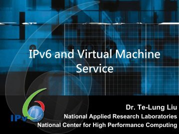 Host Host OS - IPv6 Forum Taiwan