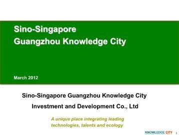 Sino-Singapore Guangzhou Knowledge City