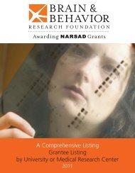 Layout 1 - Brain & Behavior Research Foundation