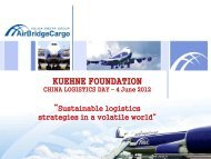 Air Bridge Cargo, Robert Song