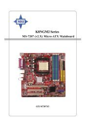 ASPIRE SERIES MS-7222 DRIVERS FOR WINDOWS 7