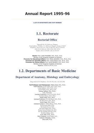 Department of Social Medicine - doki.NET