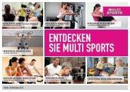 entdecken sie PiLates und YoGa - Sportcenter Multi Sports