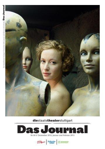 Das Journal - Die Staatstheater Stuttgart