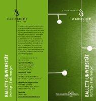 ballett - Der Staatsballett Berlin-Blog
