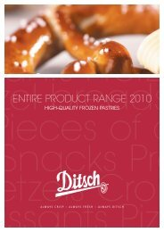 ENTIRE PRODUCT RANGE 2010 - Ditsch