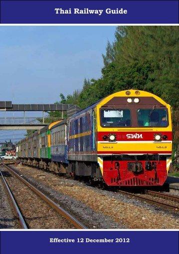 Thai Railway Guide - Fahrplancenter