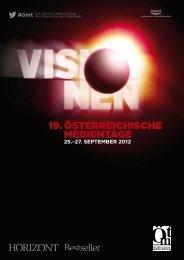 25. september 2012 - Österreichische Medientage