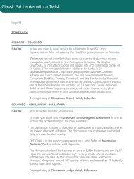 Link_Page43_ClassicSriLanka - Diethelm Travel Asia